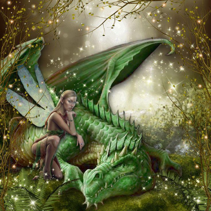 enchanted forest dragon original - photo #37