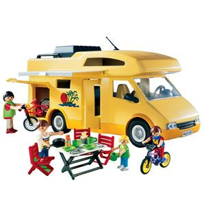 The playmobil camper, I want one again.