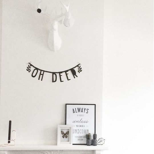 #Wordbanner #tip: Oh #deer - Buy it at www.vanmariel.nl - € 11,95
