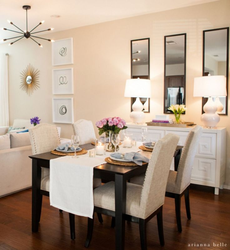 Living And Dining Room Combo: Best 25+ Small Living Dining Ideas On Pinterest