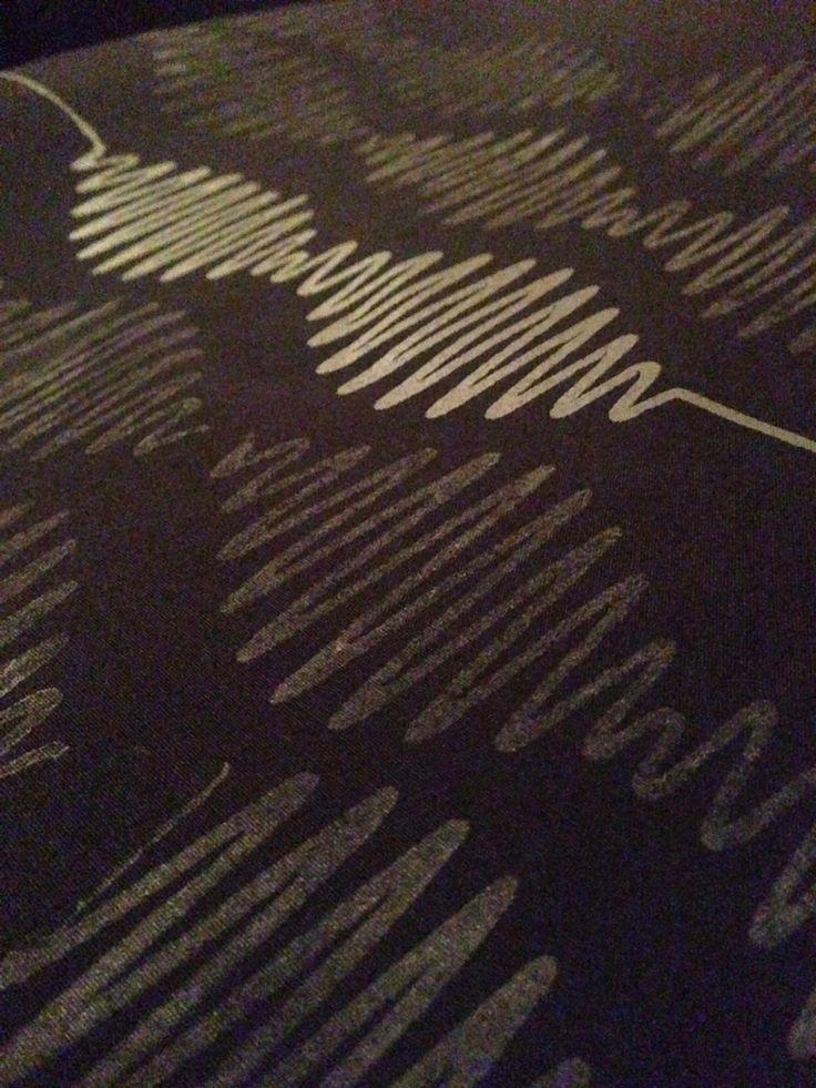 """""""Arctic Monkeys"""" Diseño y Estampado en Serigrafía. BRUGGE Diseño y Producción."""