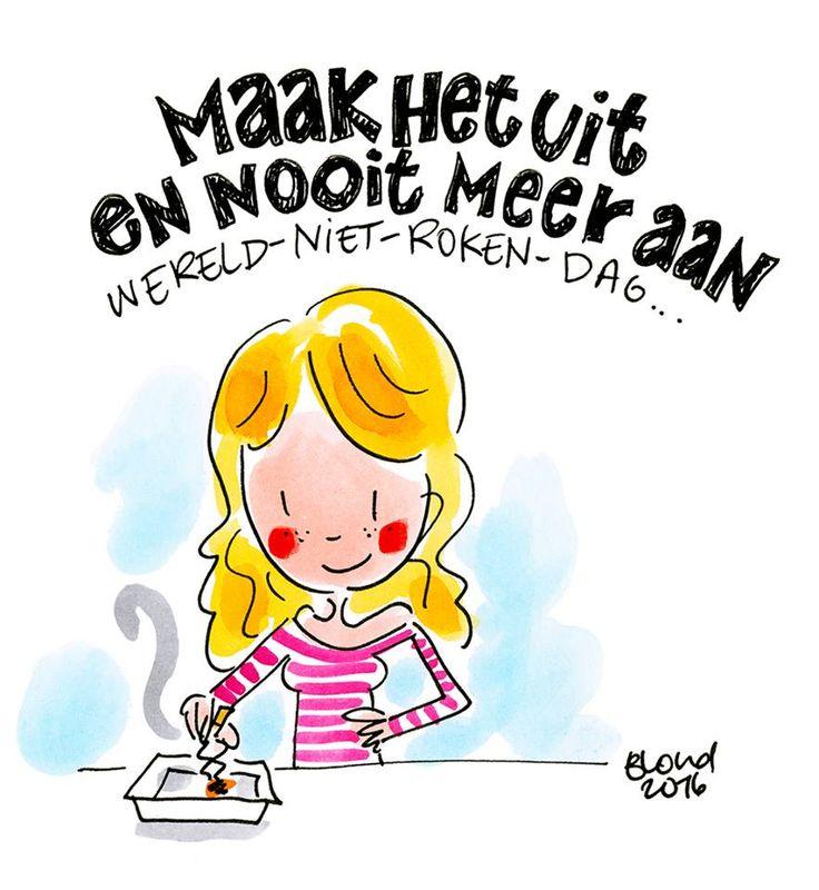 Niet-roken-dag by Blond-Amsterdam