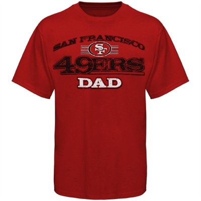 49ers Dad T Shirt Father S Day Gifts For Sports Fans