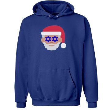 christmukkah,hanukkah,chanukkah,santa,santa claus,emoji,santa emoji,hanukkah emoji,christmas,xmas,hannukah,channukah,ugly christmas,red white blue,star of david