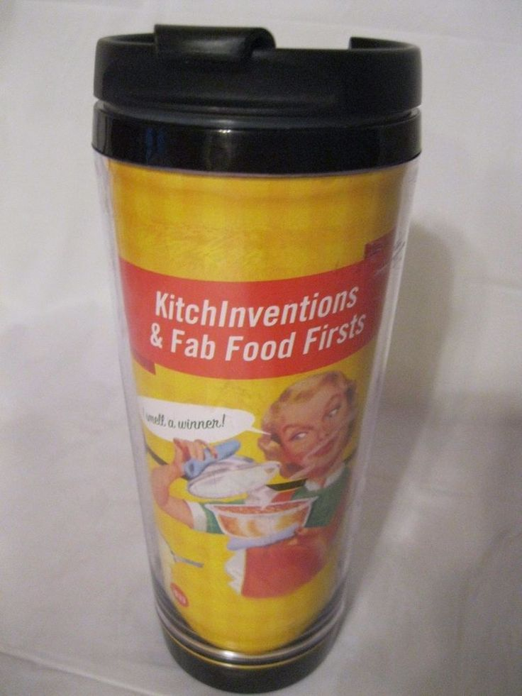 Thermal Travel Mug Cup New Advertising Vintage Kitchen Inventions & Fab Food