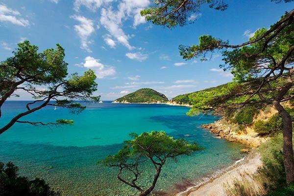 Stunning coastline on the island of Elba #elba