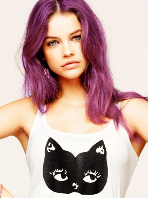 purple hairPurple Hair, Purple Rain, Kitty Cat, Hair Colors, Purplehair, Barbara Palvis, Barbarapalvin, Dusty Rose, Colors Hair