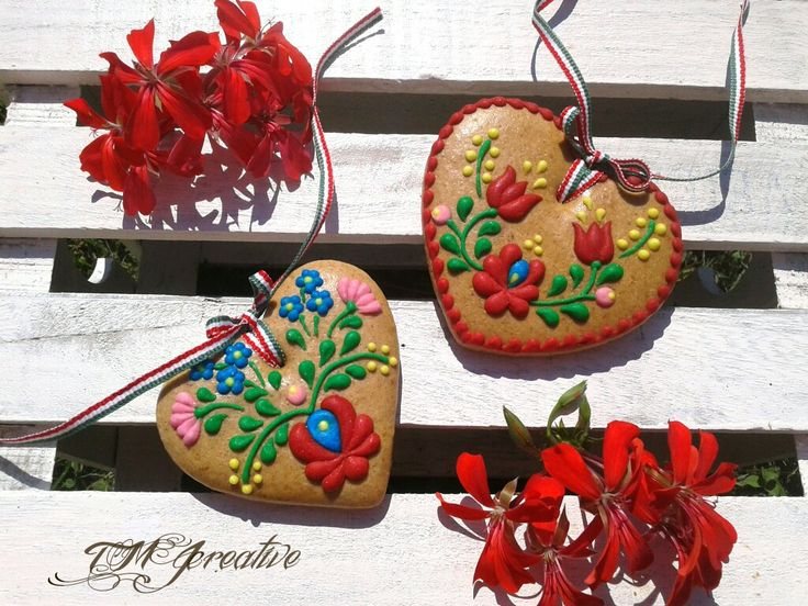 #TMJcreative #gingerbread #cookie  #hungarianfolkart #matyó