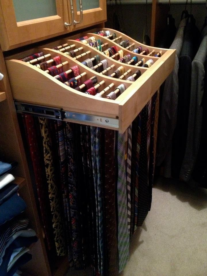 Best 25 Tie Storage Ideas On Pinterest Organize Ties Tie Rack