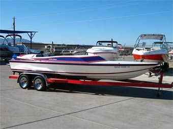 The Boat Brokers & RV (800) 488-0258 1987 22' SilverWing V-Drive Day Cruiser - $29,995