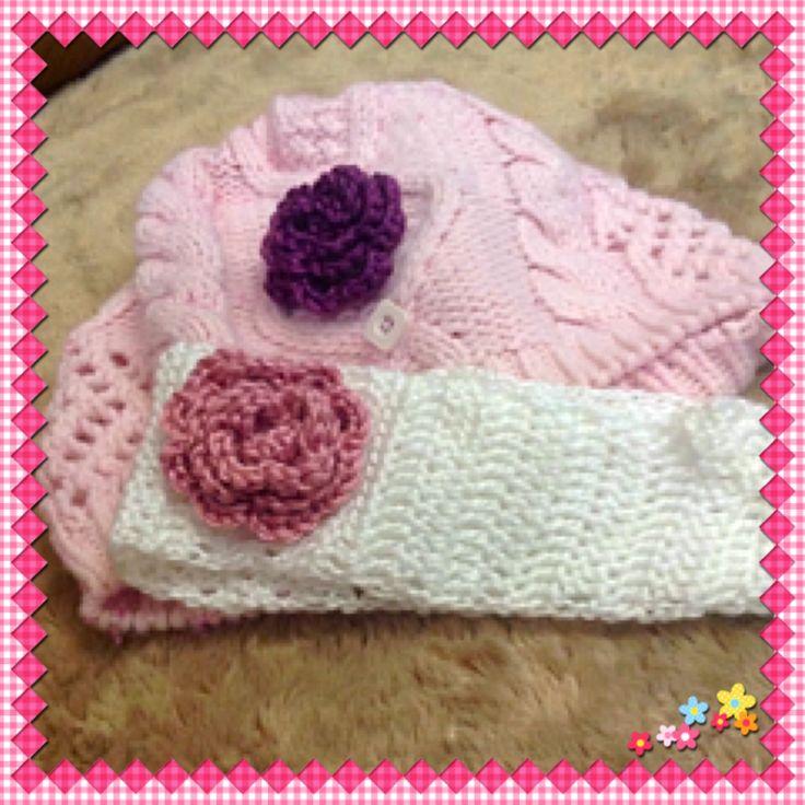 Look what I've learnt to do ... crochet pretty little flowers!