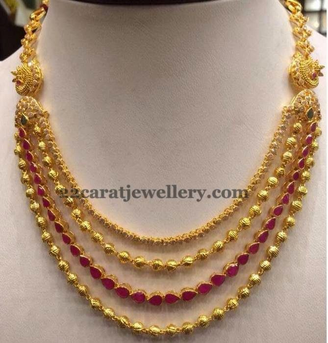 Jewellery Designs: Grand Haram 37 Grams Only