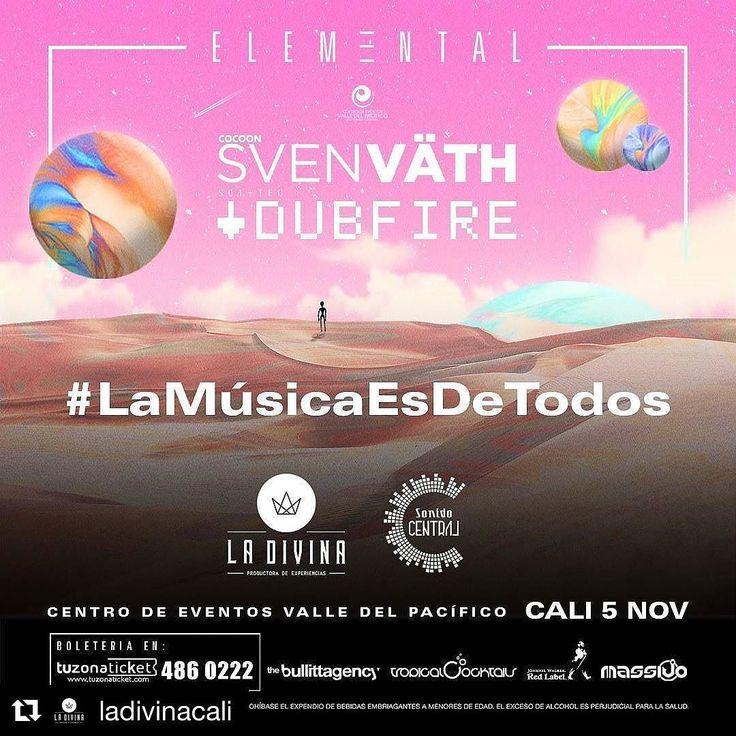 #svenvath y #dubfire en cali!! No me diga más.... Hasta hoy preventa a 77  @svenvaeth_official @dubfire @ladivinacali #encalisipasancosas #calico #cali #colombia #calicultura #calidefiesta