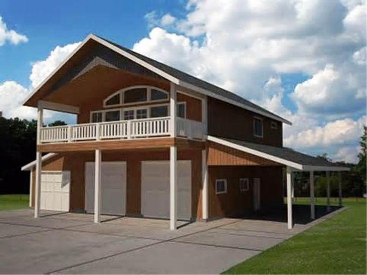 17 best images about pole barn garages on pinterest for 4 car garage with loft apartment