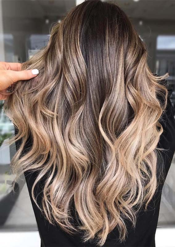 Best Of Balayage Brunette Highlights For 2018 2019 Hair