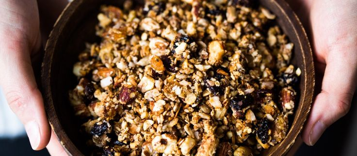 Thermomix Granola with Nuts and Fruit