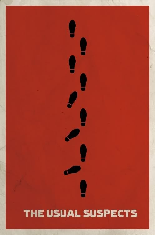 The Usual Suspects.  Terrific movie!