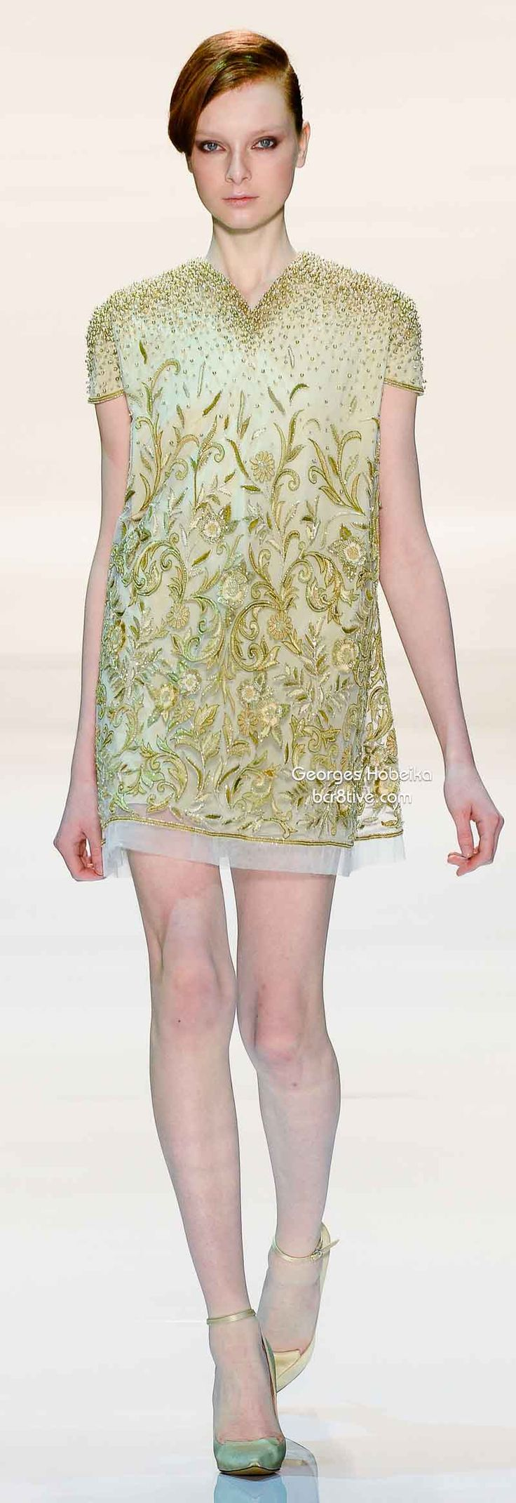 Georges Hobeika Spring 2014 This collection has many choices for Bride and Bridal Party