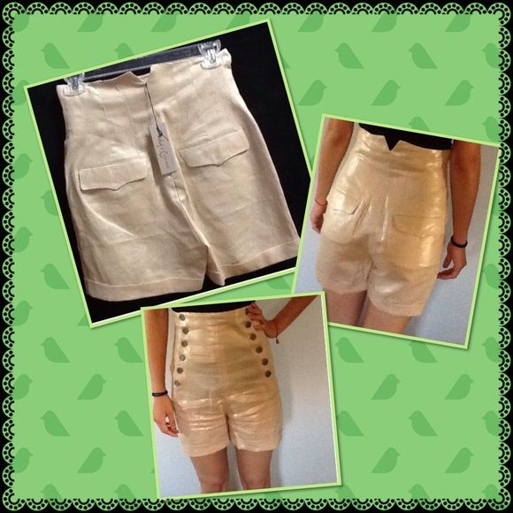 Foley+Corinna linen shorts SALE Brand new 100% linen high waist shorts Foley + Corinna Shorts