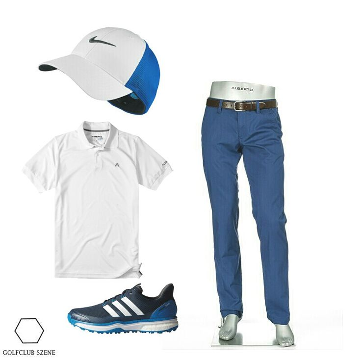 Golfoutfit Herren Alberto Nike Adidas