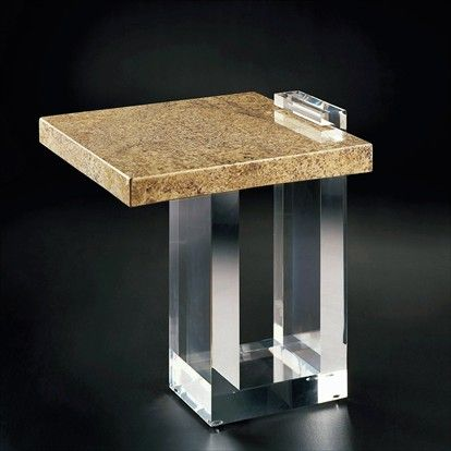 Allan KnightAcrylic | End and Occasional Tables | Cantilever Occasional Table.  Please contact Avondale Design Studio for more information on any of the products we feature on Pinterest.