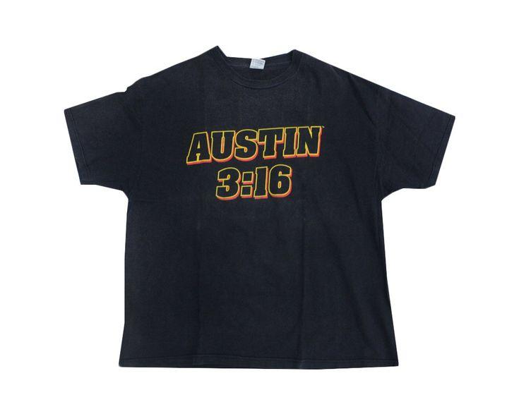 WWF STONE COLD STEVE AUSTIN 3:16 T-SHIRT XXL