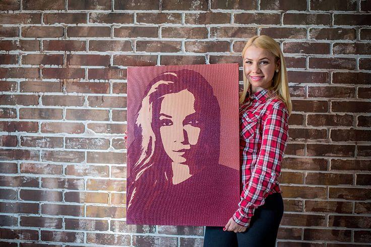 Сервис №1 по созданию поп-арт портретов и печати на холсте!