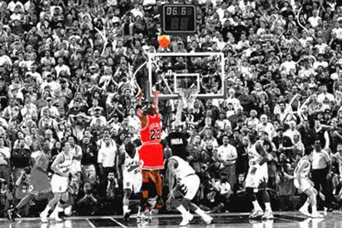 """En video: revive """"El Último Tiro"""", la canasta más famosa de Jordan #Baloncesto #Deportes"""