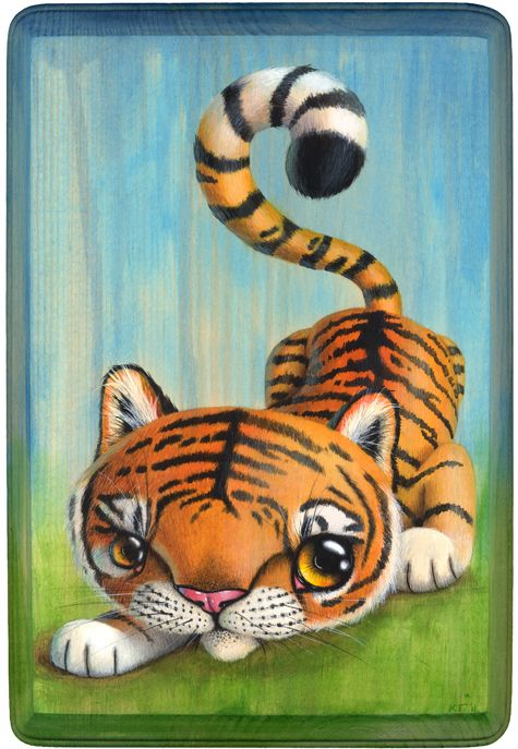 Le Tigre...this could be a cute tattoo
