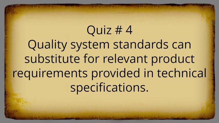 ISO 9001:2015 Consulting - True/False Quiz Questions