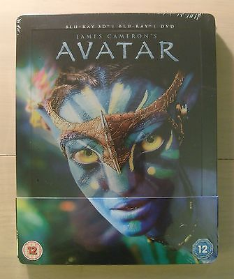 #Avatar 3d blu ray steelbook uk #exclusive new sealed #perfect,  View more on the LINK: http://www.zeppy.io/product/gb/2/391443056389/