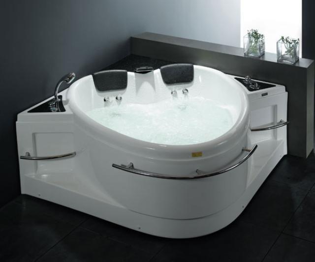 Malibu Home Mhca6042a04 Carolina Oval Massaging Air Jet Bathtub