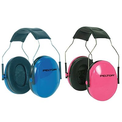 Peltor Junior Ear Muff - we use these when we take the kids to concerts or NCAA BBall games etc.  They work really well!  We've also used them at movie theaters, since they keep the sound so loud there anymore.