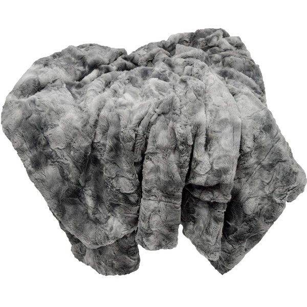 Chanasya Super Soft Fuzzy Fur Warm Charcol Gray Sherpa Throw Blanket... ($28) ❤ liked on Polyvore featuring home, bed & bath, bedding, blankets, dark grey bedding, grey blanket, charcoal grey bedding, grey bedding and gray throw