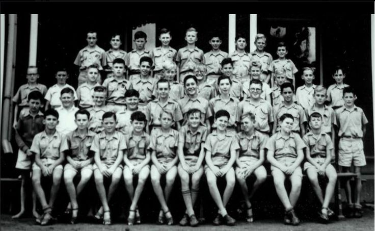 1956 Maryborough Boys' Grammar School, Year 8. Photo courtesy of Warren Bates.