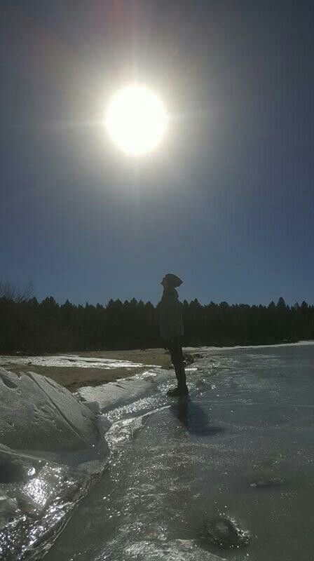 He's my Sunshine Lake Cascade Idaho