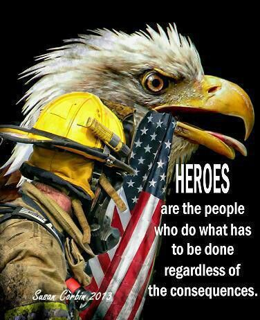 Firefighters...Thank You. God's blessing and comfort to the families of the firefighters lost in the Arizona wildfires.