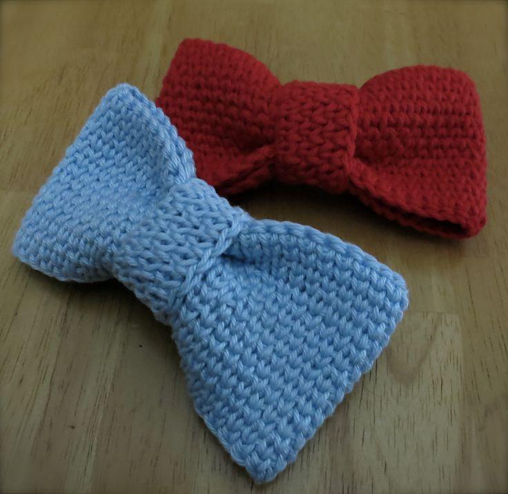 Crochet Bow/Bow Tie By Lynne Samaan - Free Crochet Pattern - (ravelry)