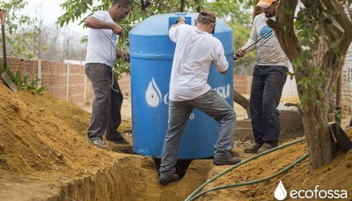 Sistema Que Trata Las Aguas Residuales Sin Usar Energía Ni Productos Tóxicos Y Además Reutiliza El Agua Aguas Residuales Tratamiento De Aguas Residuales Tanque Séptico