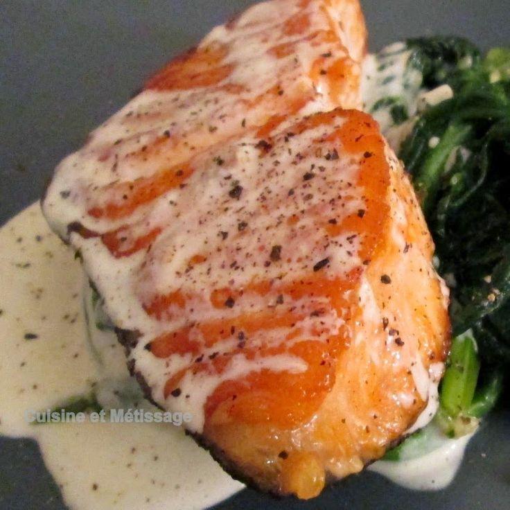 ail, Cuisine Salée, fromage, poisson, sauces, saumon, épinards, parmesan