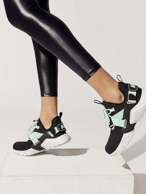 53a52896b02ca NIKE W Nike Air Huarache City Low Black Black-igloo white SNEAKERS ...