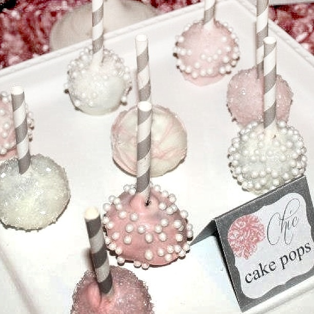 Wedding Cake Pops | Sugared Moments