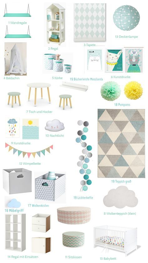 Salle de cirque girlish au pastel   – Home Child