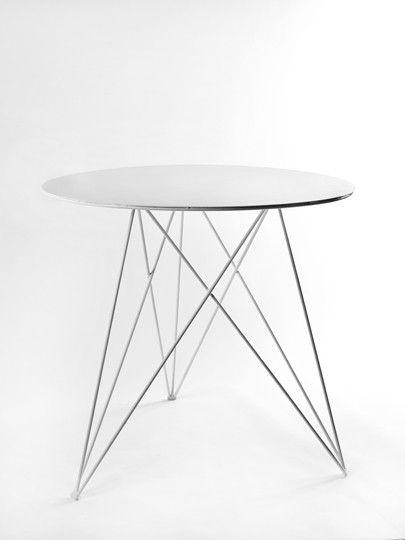 Witte ronde tafel van Antonino Sciortino