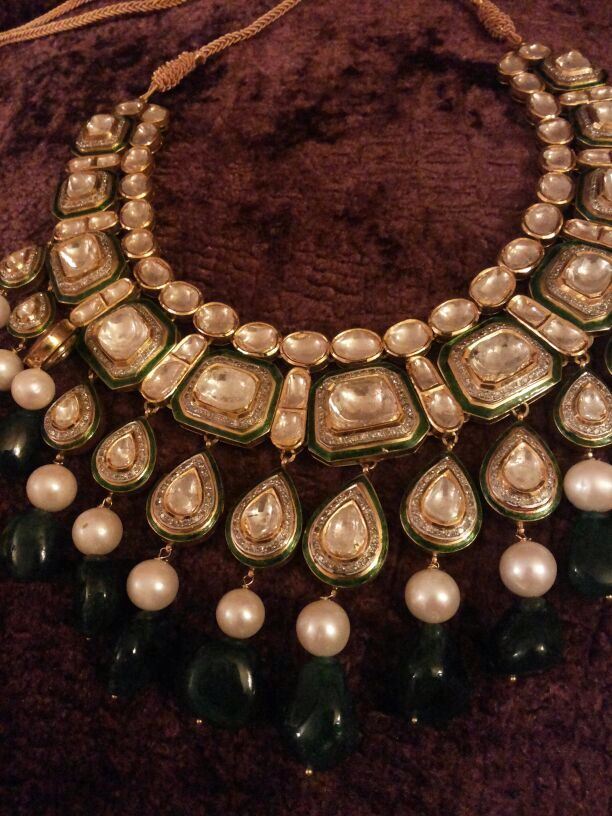 Jadau Diamond Polki Necklace
