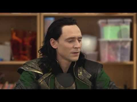 Thor: The Dark World Comedy Central Loki Promos - YouTube --> Tom Hiddleston wins at life.