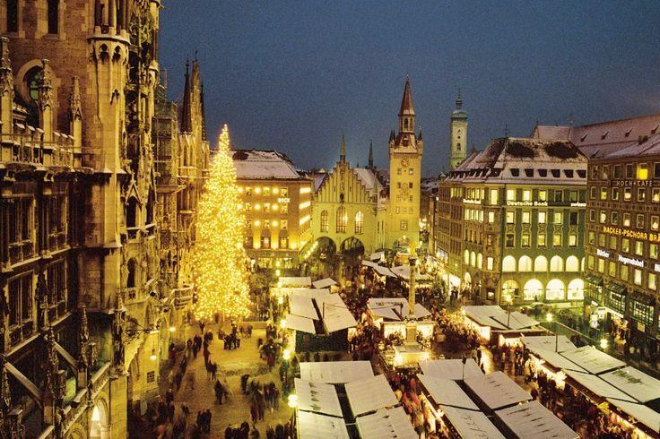 München pakt uit met Kerstmis                      Munchen
