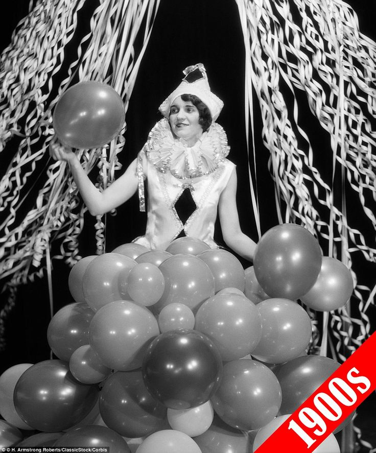 1920s: A popular costume during the Roaring 20s was a Pierrot clown - a mime characterized...