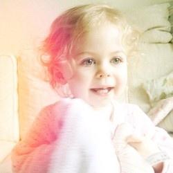 Baby Glitter is SO cute. :)