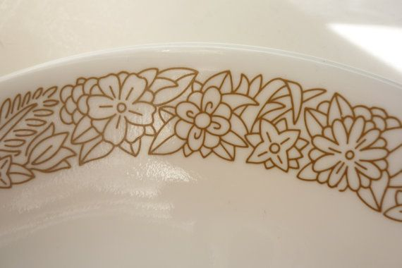 Vintage Corelle Woodland Brown Dinner Plates